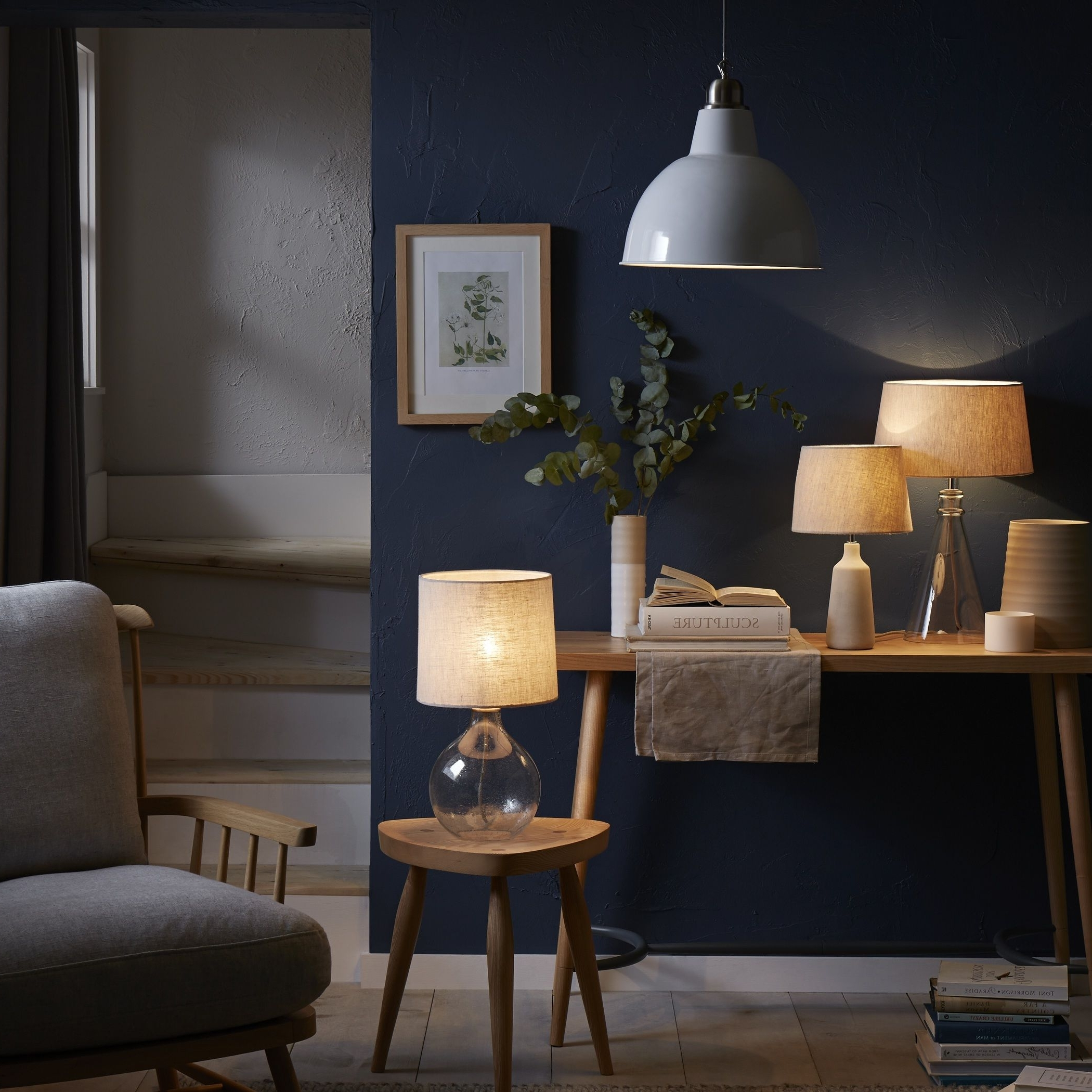 John Lewis Living Room Table Lamps Within Most Recent John Lewis Have A Number Of Natural Wood And Glass Lighting Designs (View 6 of 15)