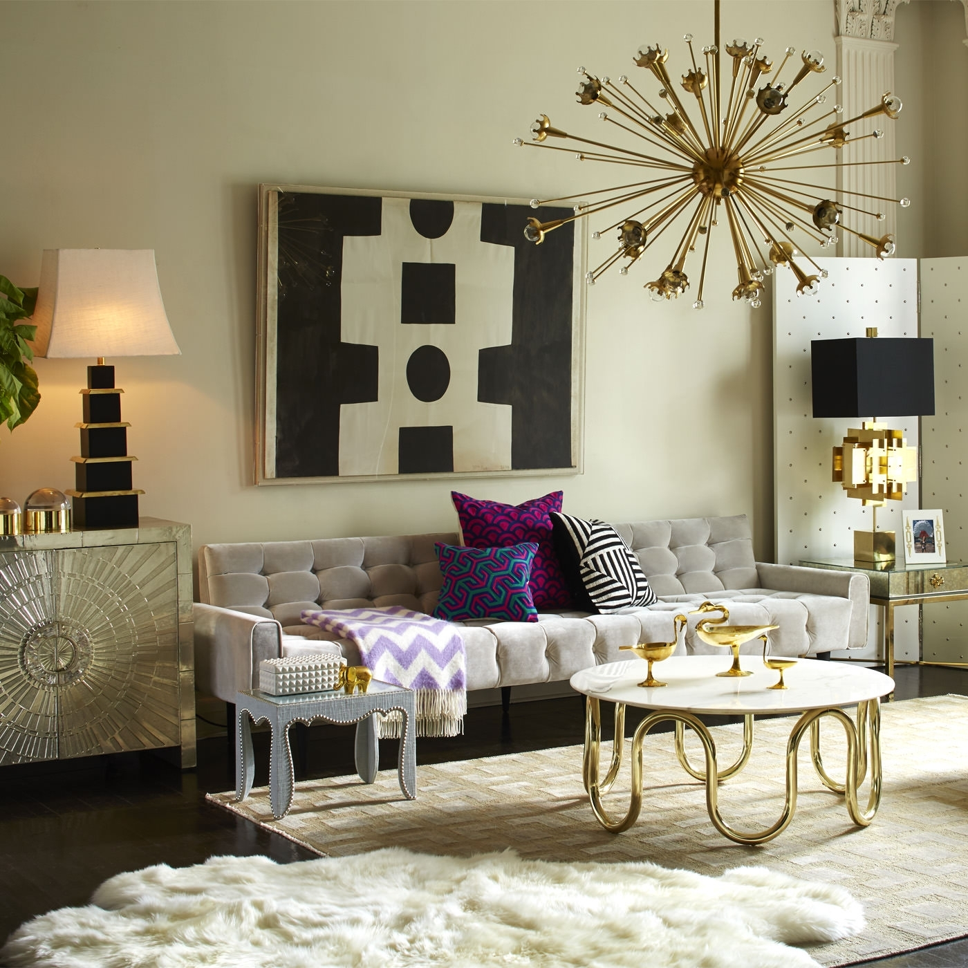 Jonathan Adler throughout Well-known Formal Living Room Table Lamps