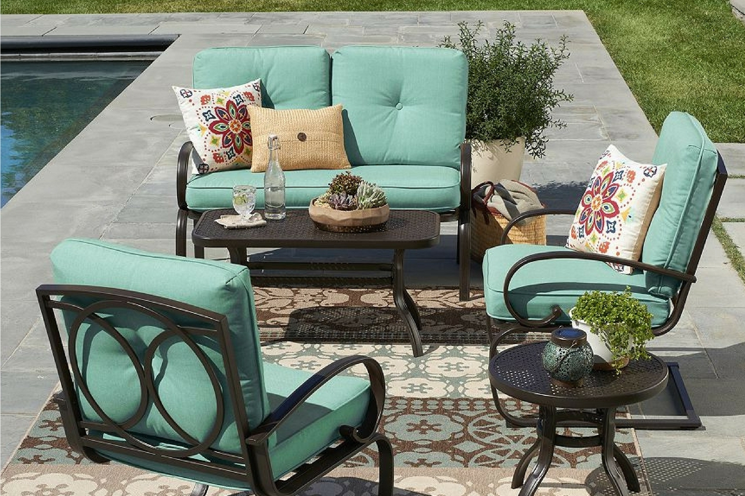 Kohl's Is Having A Huge Sale On Patio Furniture Right Now - Dwym intended for Most Popular Kohl's Patio Conversation Sets