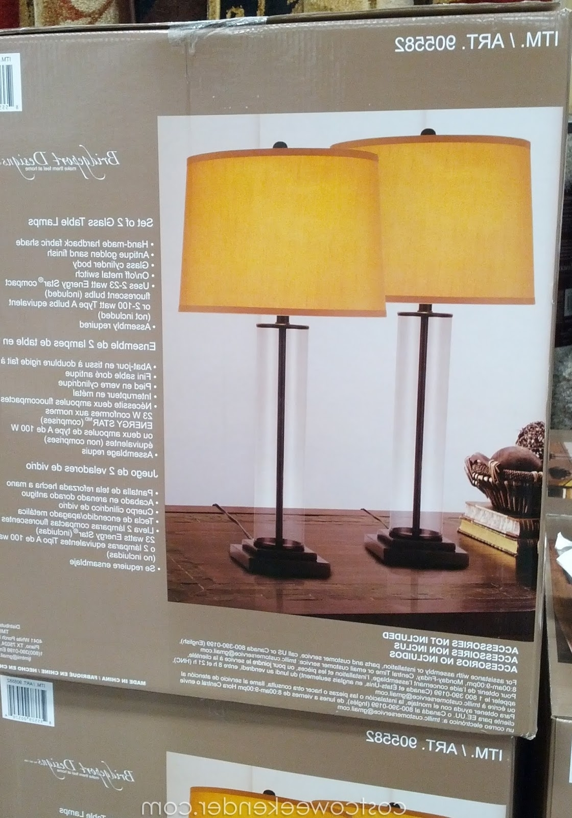 Lamp : Table Lamp Sets Outstanding Photo Ideas Costco Canada Best Within Preferred Costco Living Room Table Lamps (View 1 of 15)