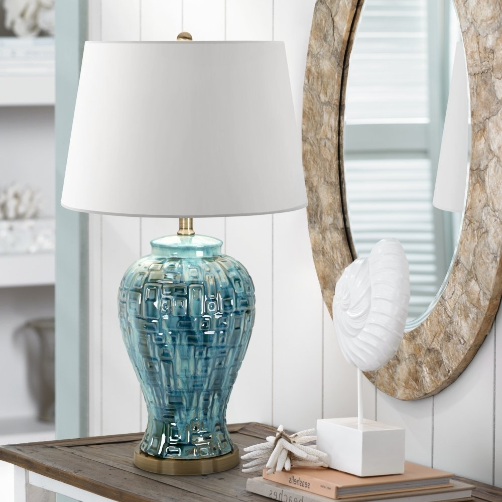 Lamp : White Ceramic Table Lamps For Living Room Made In Usa Ebay Pertaining To Popular Ceramic Living Room Table Lamps (View 14 of 15)