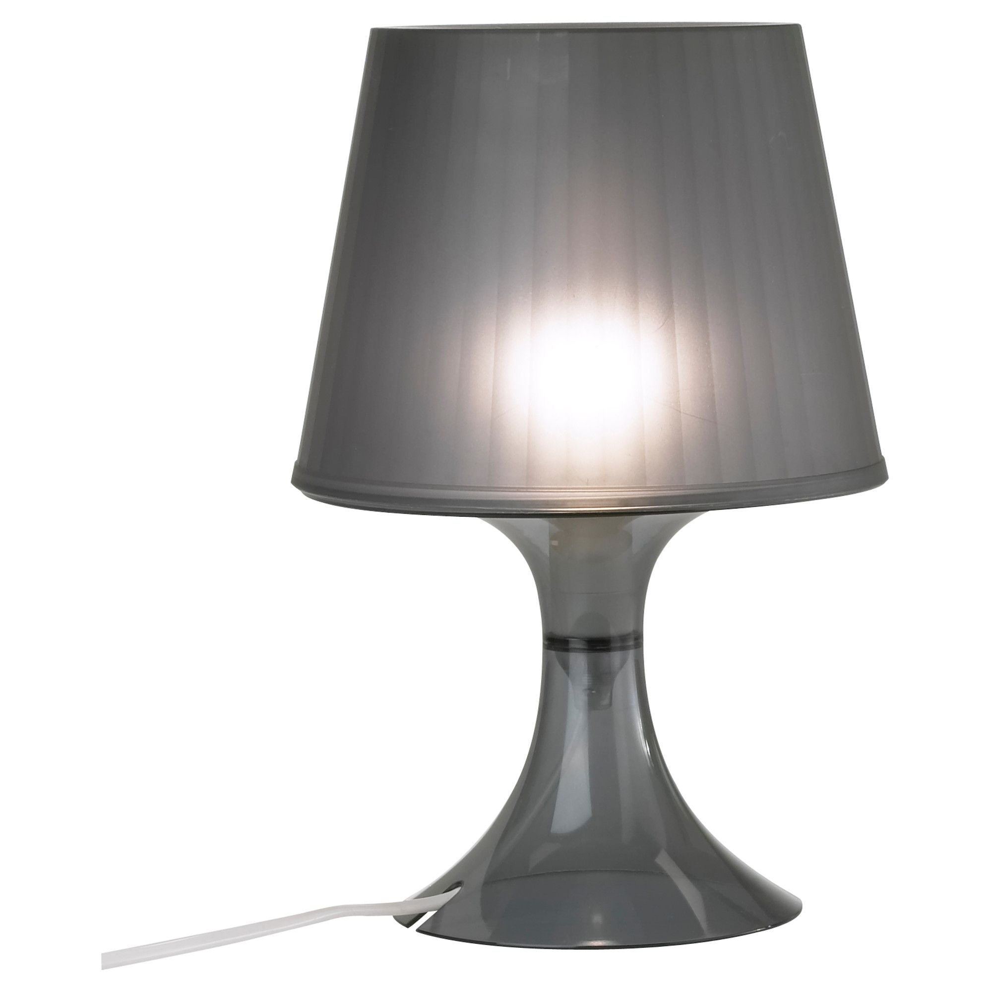 Lampan Table Lamp – Black – Ikea A Lamp Similar To Jenna's, Sitting Regarding Famous Living Room Table Lamps At Ikea (View 6 of 15)
