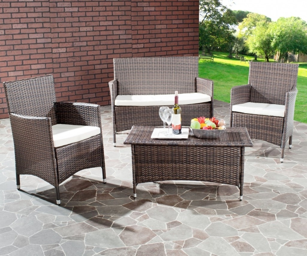 Latest 4 Piece Patio Conversation Sets For 4 Piece Patio Set Archives – Discount Patio Furniture Buying (View 12 of 15)