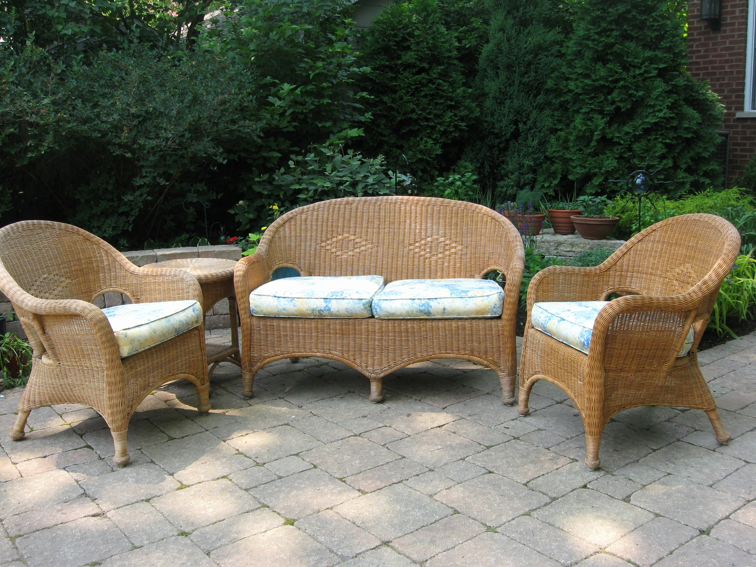 Latest Chair : Phenomenal Outdoor Wicker Patio Furniture Chairs New For Pier One Patio Conversation Sets (View 2 of 15)