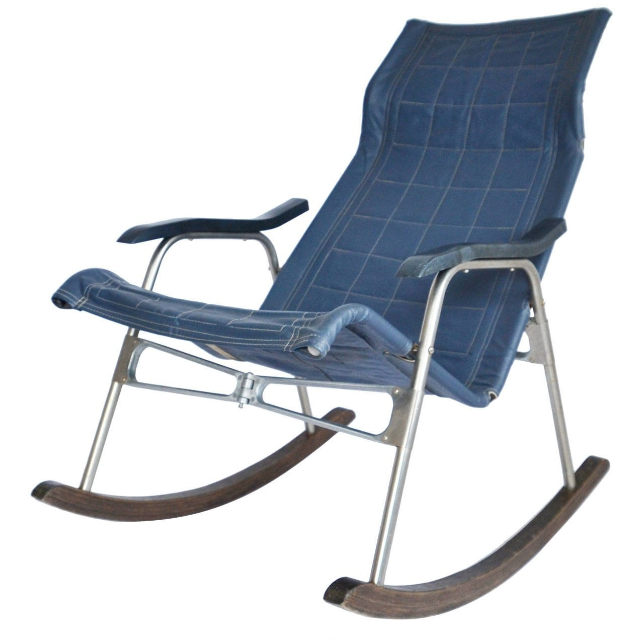 Latest Folding Rocking Chairs Regarding Folding Rocking Chairtakeshi Nii, Japan, 1950S For Sale At 1Stdibs (View 6 of 15)