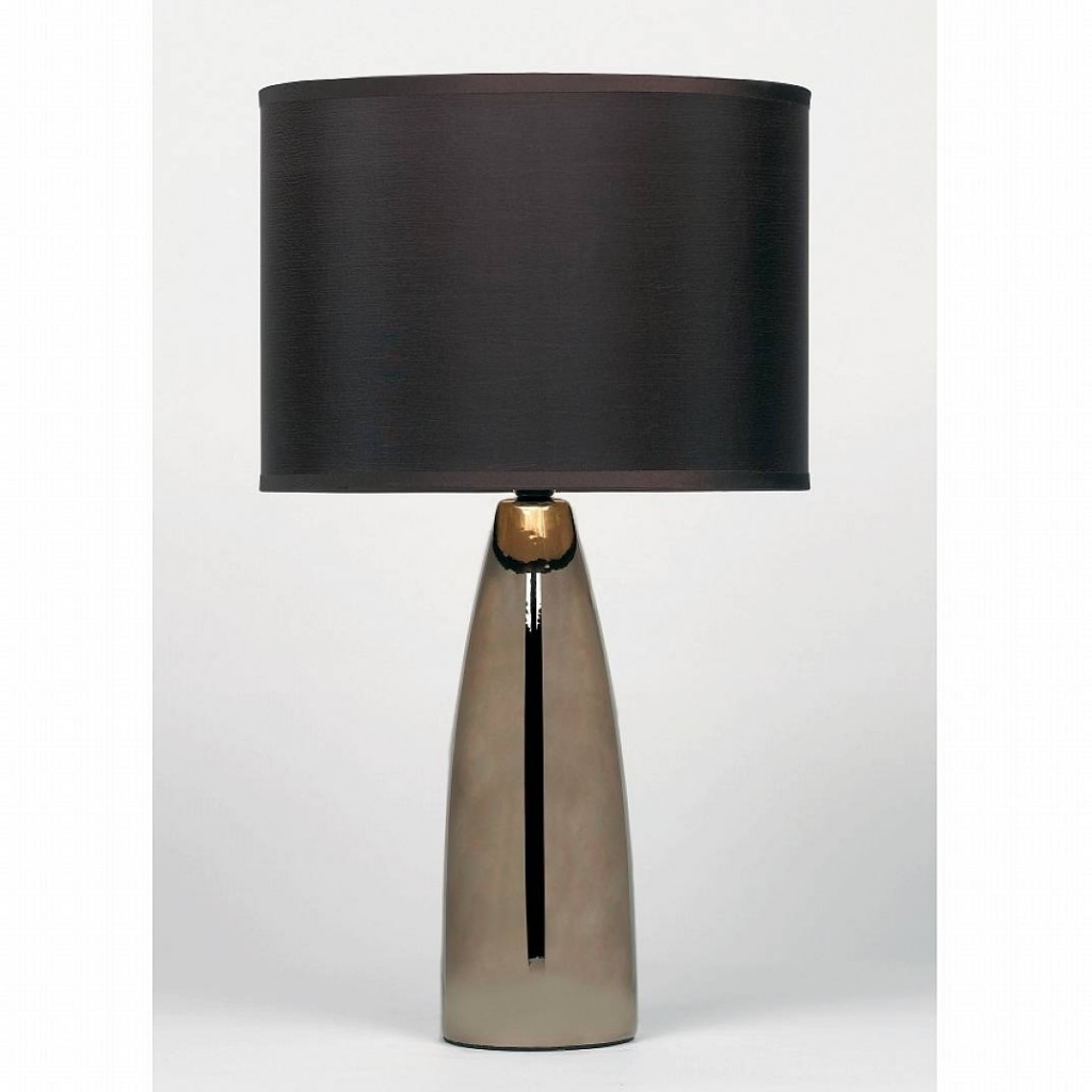 Latest Modern Table Lamps For Living Room For Impressive Modern Table Lamps For Living Room 14 Brown (View 3 of 15)