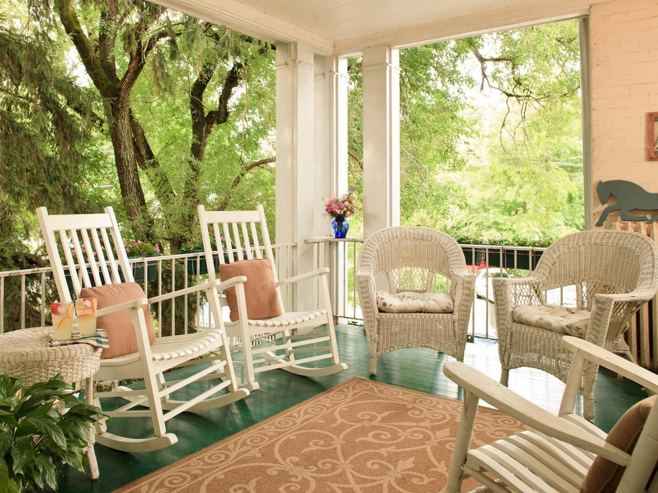 Latest Rocking Chairs For Front Porch Regarding Front Porch Rocking Chairs For Decoration Karenefoley Porch Ever (View 4 of 15)