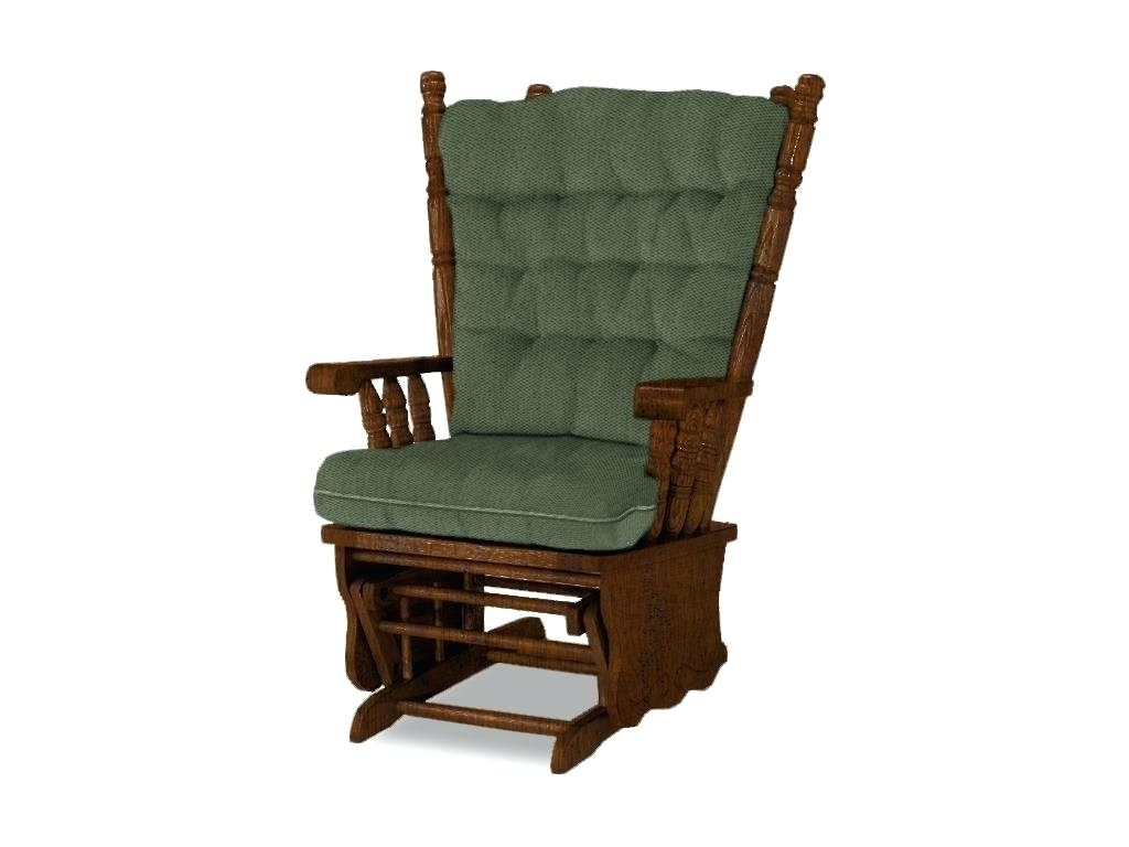 Latest Rocking Chairs With Ottoman Intended For Glider Rocker Chair Best Home Furnishings Glider Glider Rocker (View 4 of 15)