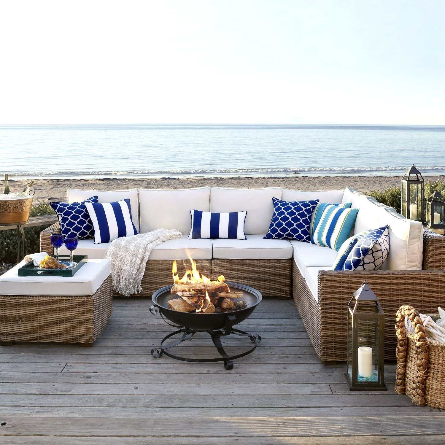Latte, Corner And Arms With Pier One Patio Conversation Sets (View 2 of 15)
