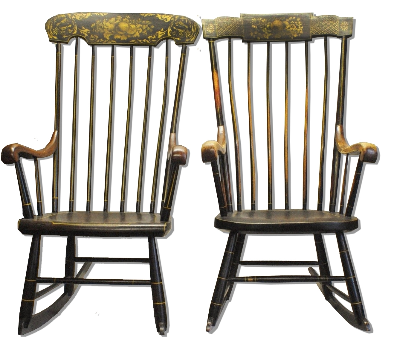 Lincoln's Rocking Chairs Sell For $26K – Antique Trader For Recent Antique Rocking Chairs (View 11 of 15)