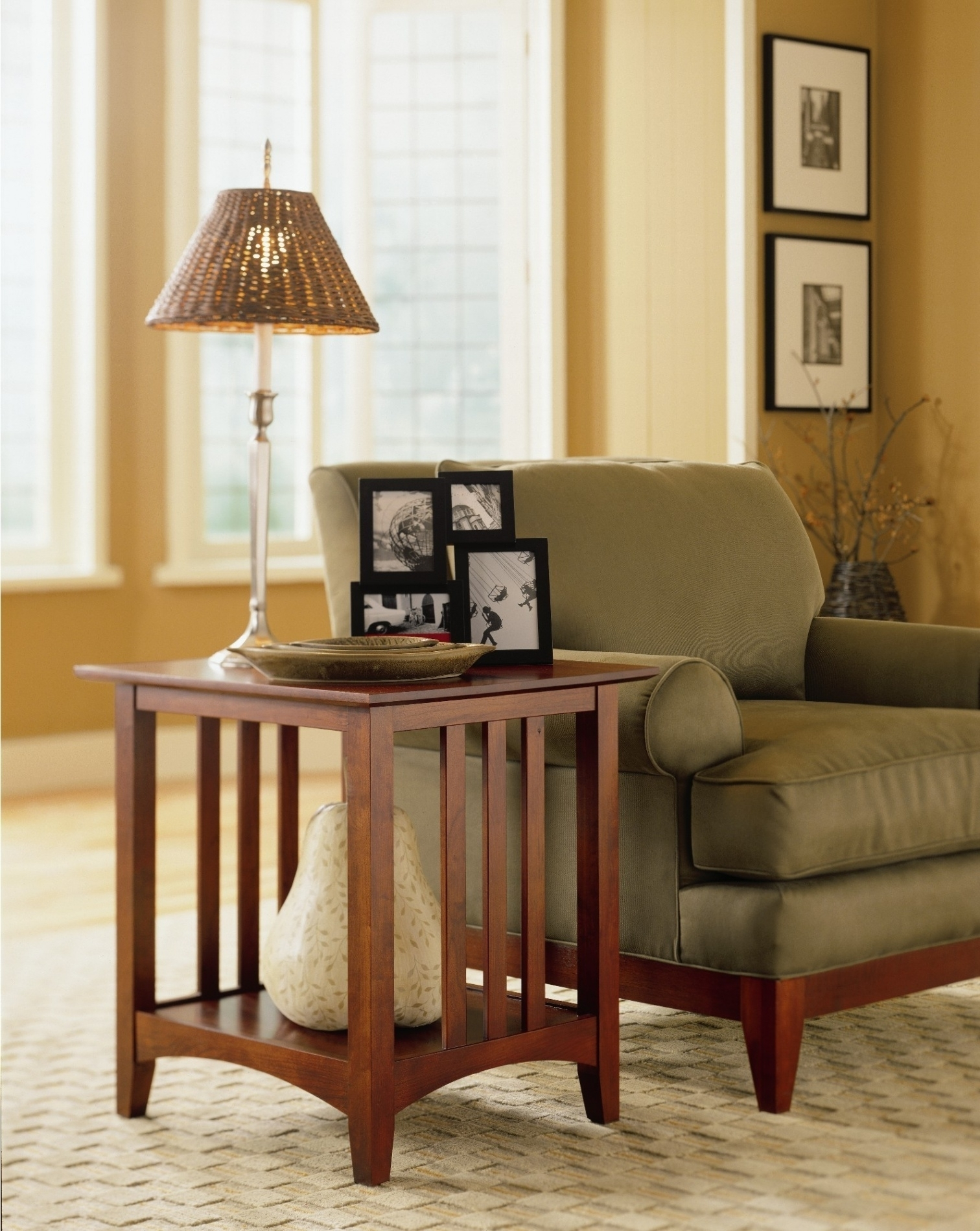 Living Room End Table Lamps For 2017 End Table Lamps For Living Room Home Combo, Living Room End Table (View 4 of 15)