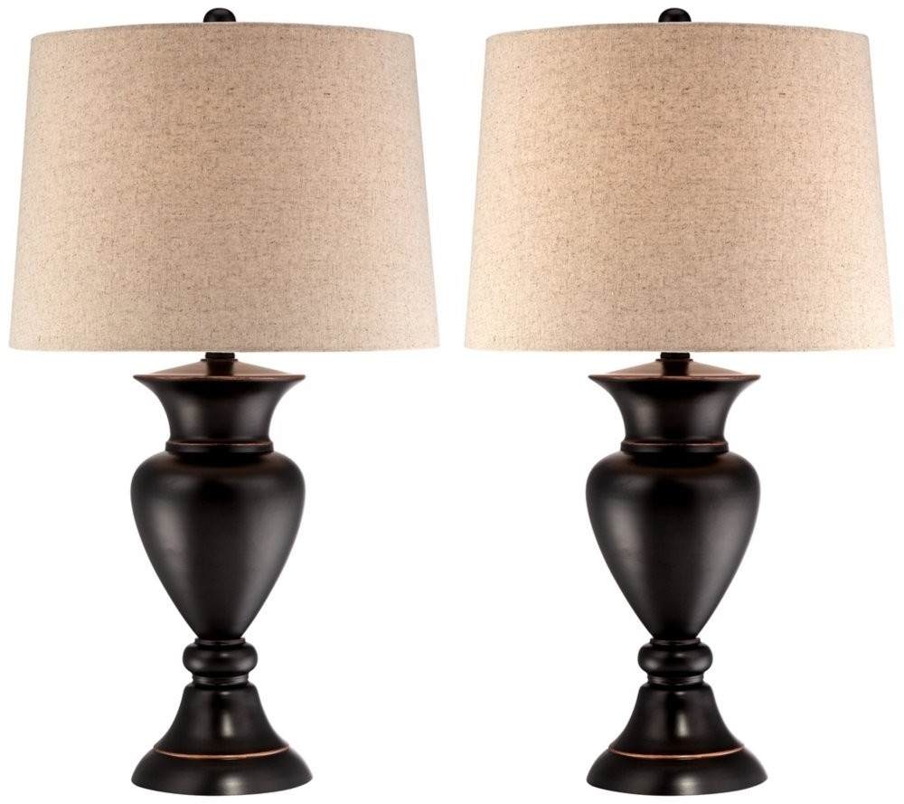 Living Room End Table Lamps Rustic Table Lamps Living Room Living Pertaining To Widely Used Living Room Table Lamps (View 5 of 15)