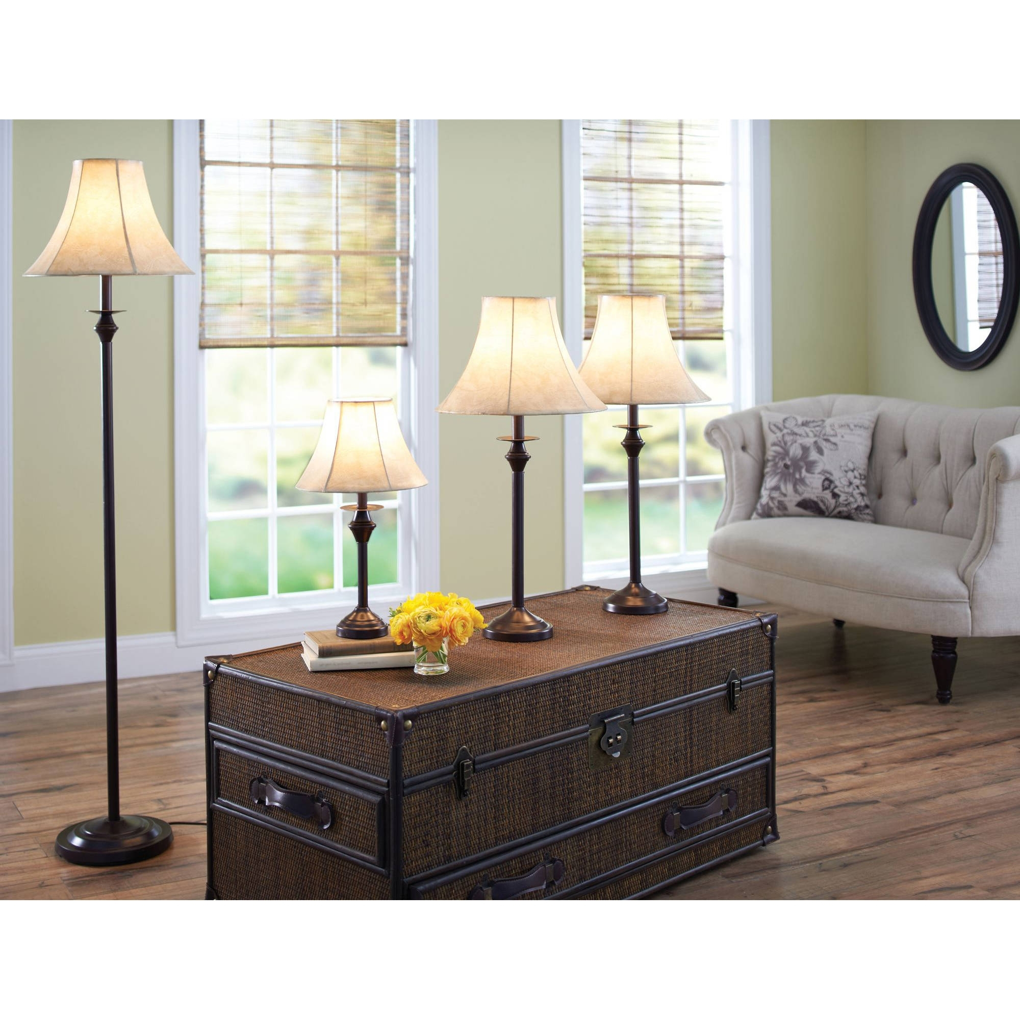 Living Room Table Lamps Sets In 2017 47 Table Lamp Sets Living Room, Table Floor Lamp Set Vintage Bronze (View 10 of 15)
