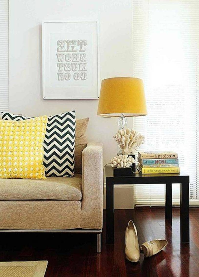 Living Room Table Lights With Preferred Yellow Table Lamps For Living Room — S3Cparis Lamps Design : Cozy (View 9 of 15)