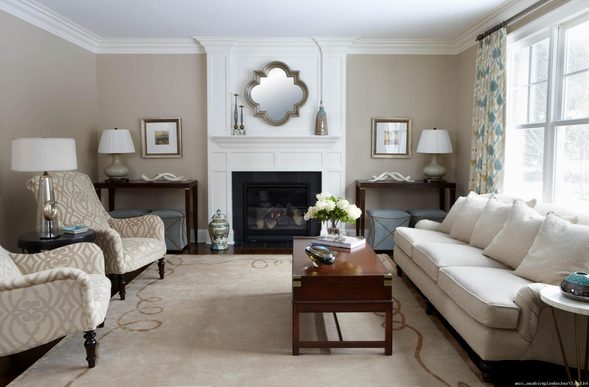Featured Photo of Transitional Living Room Table Lamps