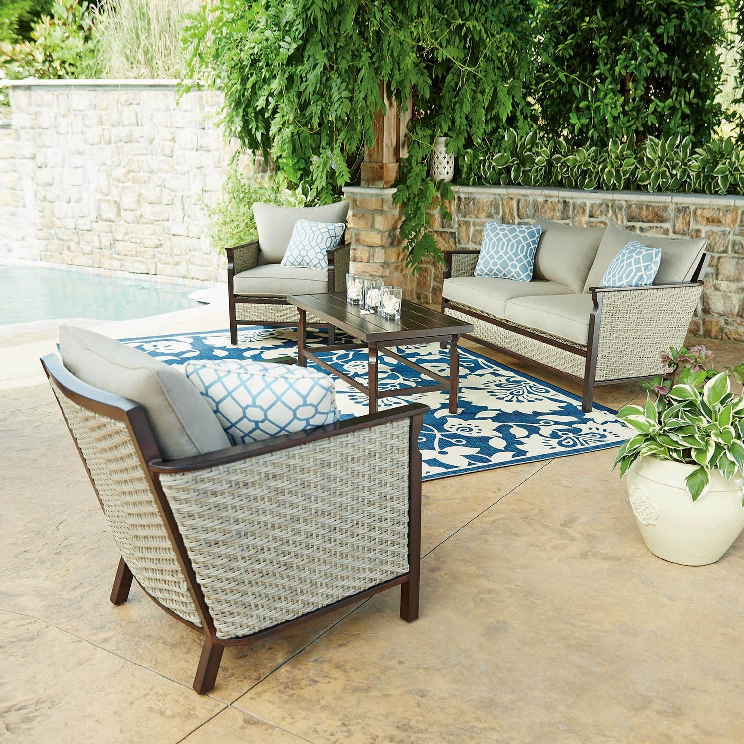 Lounge Chair Ideas ~ Lounge Chair Ideas Sams Club Pool Chairs Patio With Regard To Latest Patio Conversation Sets At Sam's Club (View 6 of 15)