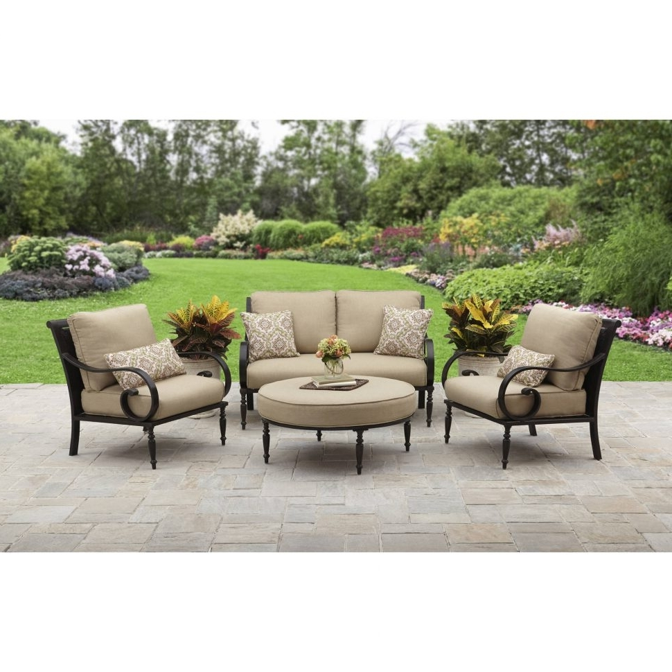 Lowes Patio Furniture Conversation Sets Regarding 2017 Patio : Patio Lowes Furniture Costco Tables Conversation Sets (View 8 of 15)