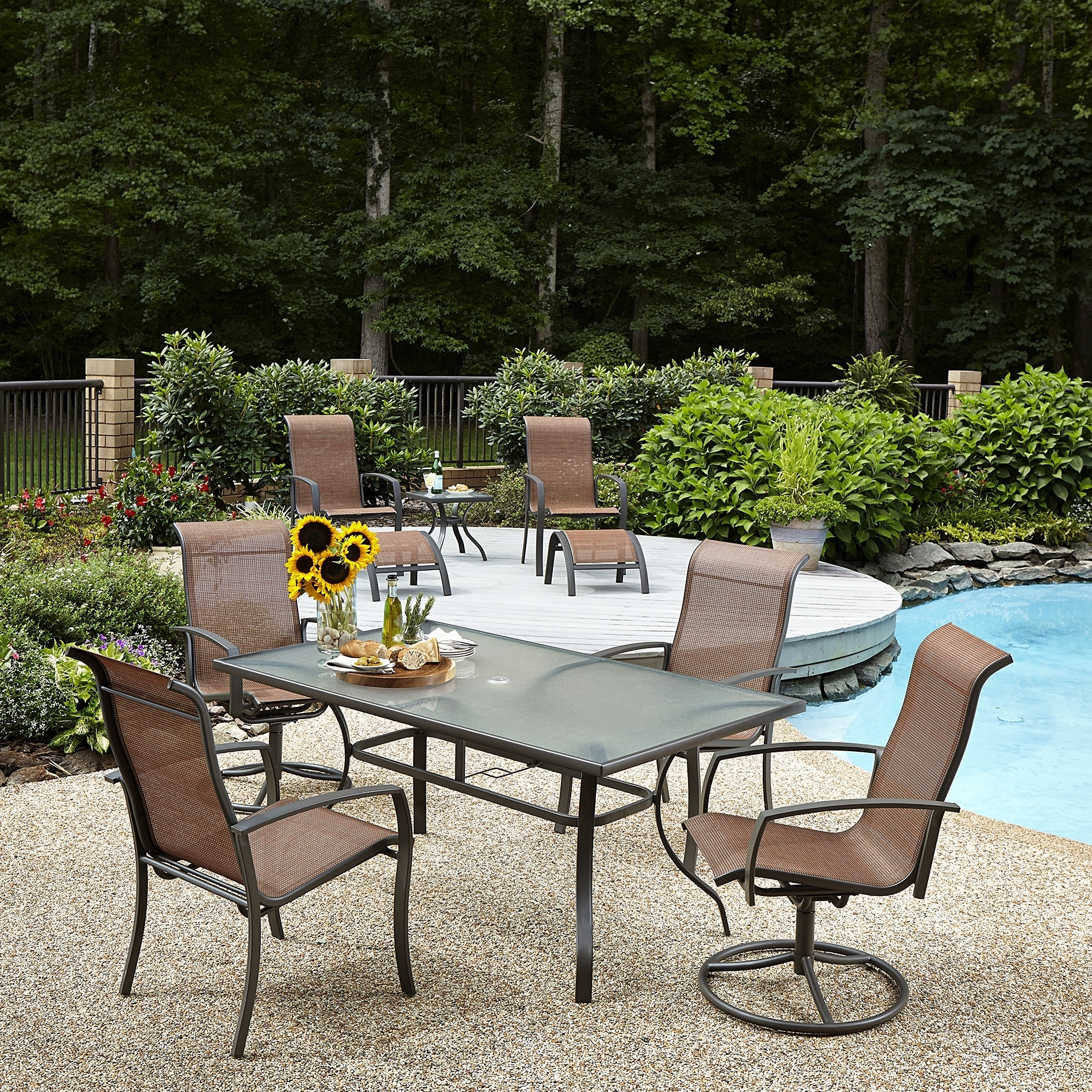 Martha Stewart Conversation Patio Sets Regarding Recent Patio : Imposing Martha Stewart Patio Furniture Pictures Ideas (View 6 of 15)