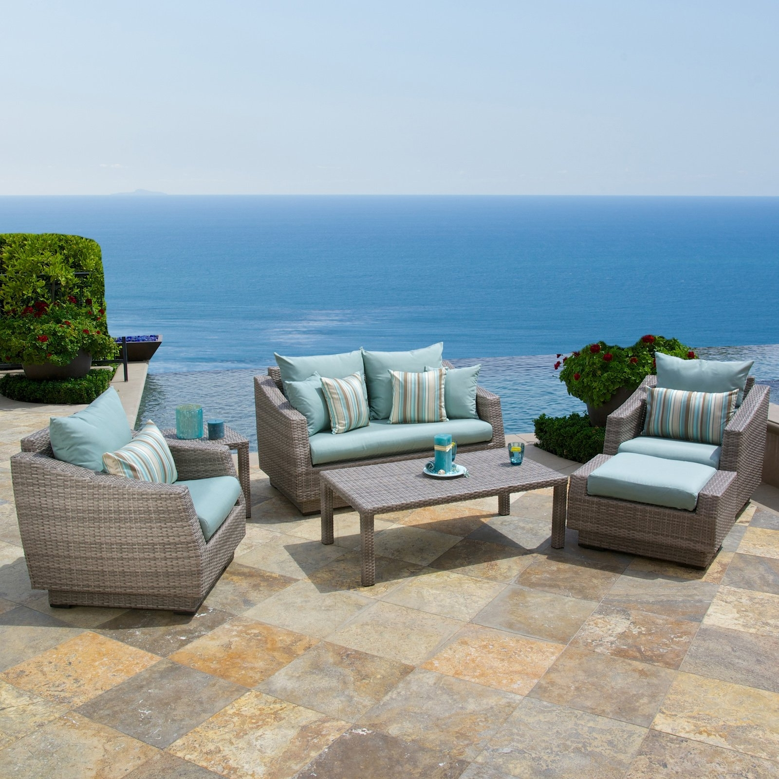 Modern Patio Conversation Sets With Regard To Trendy Awesome Collection Of Patio Modern Patio Set Fabulous Modern Patio (View 15 of 15)
