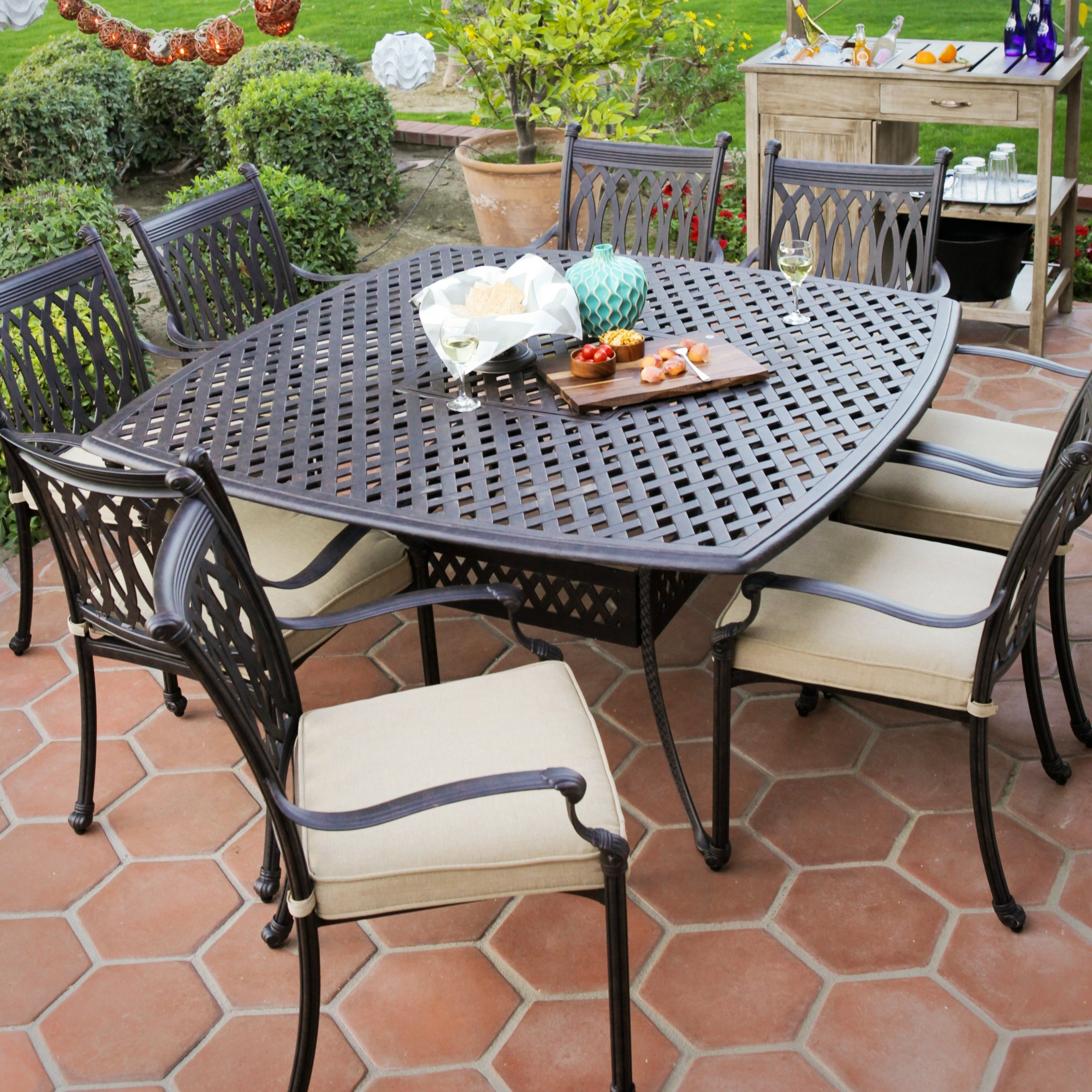 Modern Patio Furniture Clearance Better Best Outdoor Dining Sets On With Regard To 2017 Patio Conversation Sets With Dining Table (View 7 of 15)