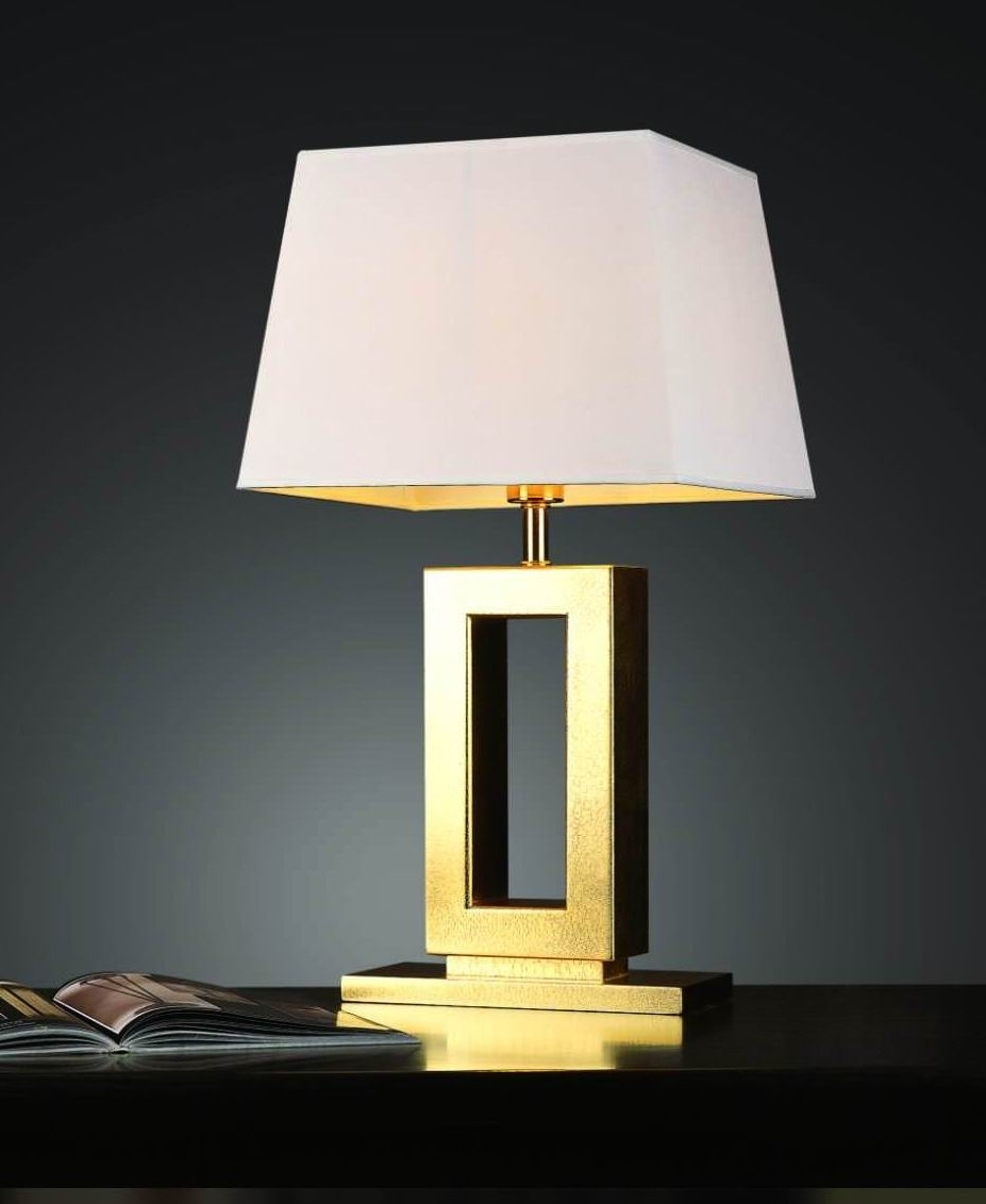 Modern Table Lamps Bedroom — S3Cparis Lamps Design : Pretty And Regarding Trendy Modern Table Lamps For Living Room (View 7 of 15)