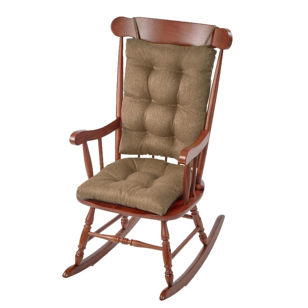 Most Current Gripper Omega Gold Jumbo Rocking Chair Cushion Set 849307Xl 01 – The Pertaining To Xl Rocking Chairs (View 6 of 15)