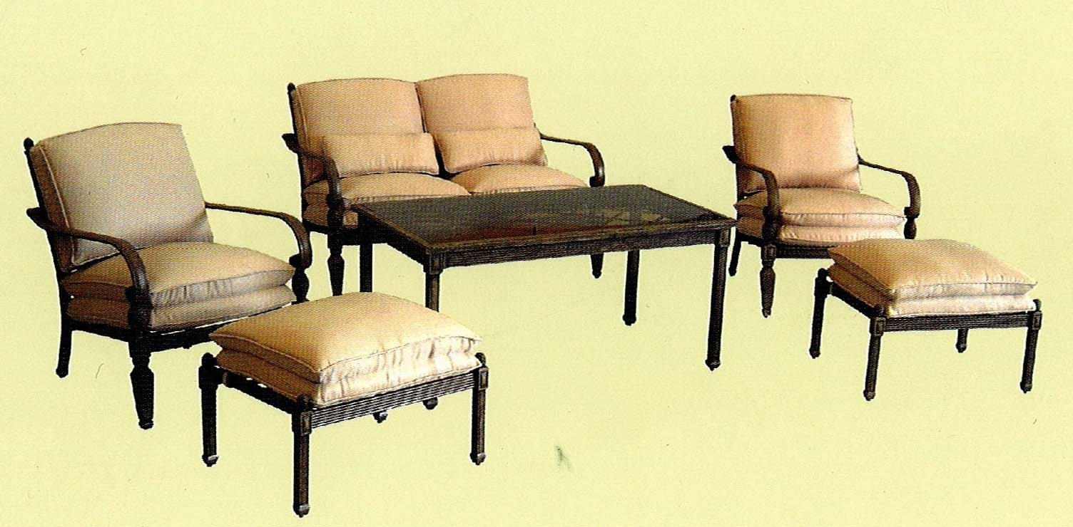 Most Current Hampton Bay Patio Conversation Sets With Regard To Verrado Cushions (View 6 of 15)
