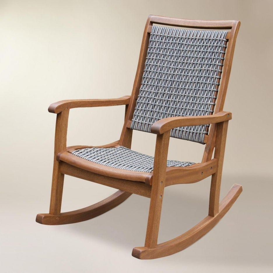 Most Current Indoor Wicker Rocking Chairs For Chair (View 3 of 15)