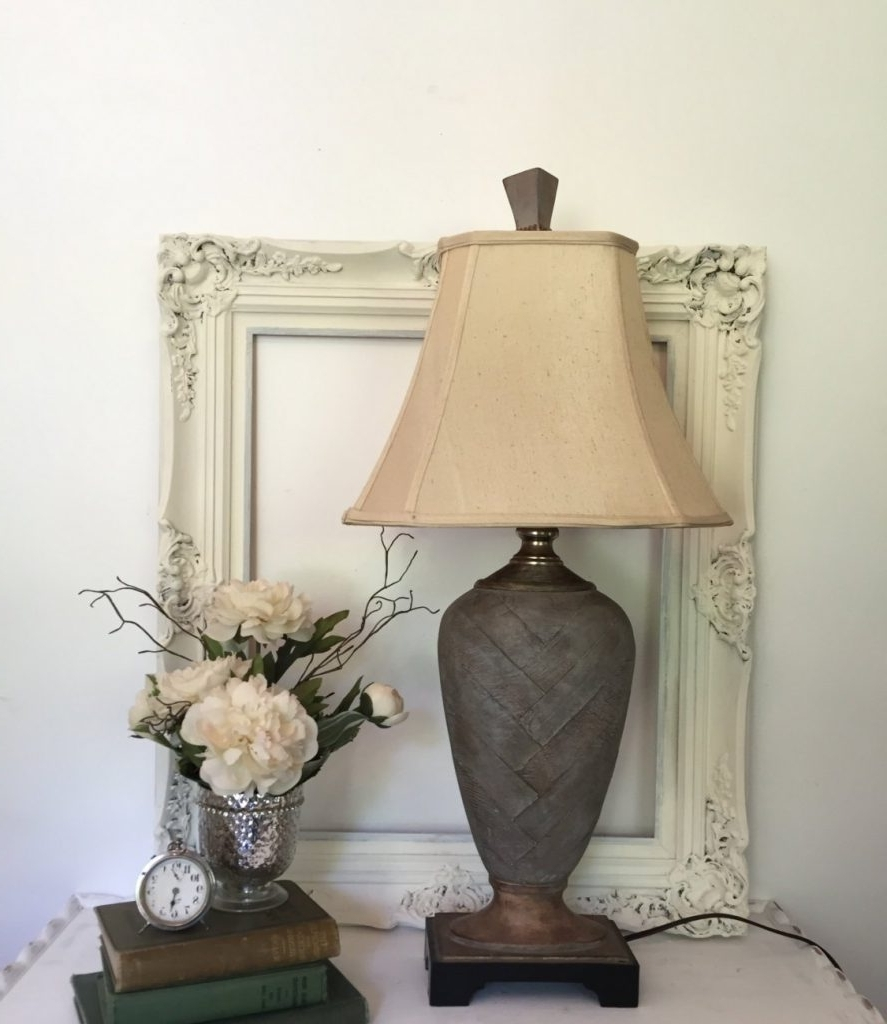 Most Current Nightstands : Living Room End Table Lamps Vintage Decoration And Pertaining To Vintage Living Room Table Lamps (View 6 of 15)