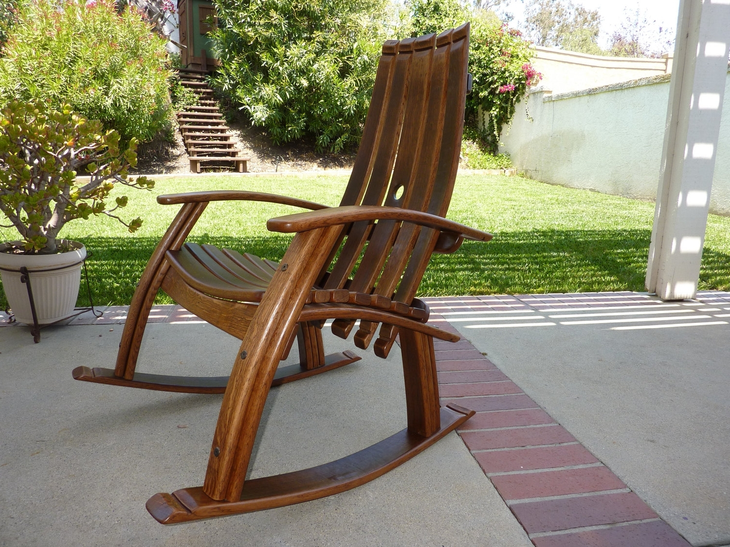 Most Current Outdoor Vinyl Rocking Chairs In Chair (View 5 of 15)