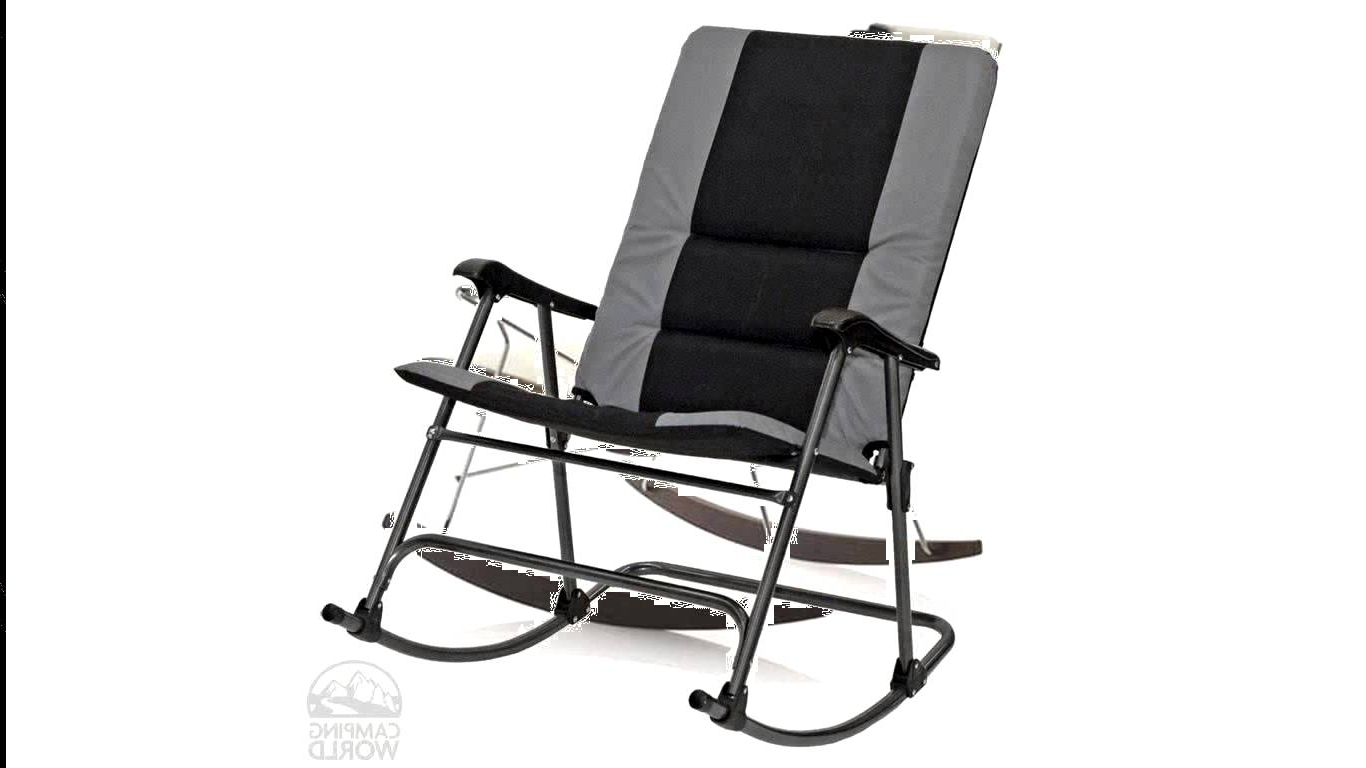 Most Current Padded Patio Rocking Chairs With Regard To Lovable Pleasant Tall Patio Chairs Folding Rocking Chair Foldable (View 12 of 15)
