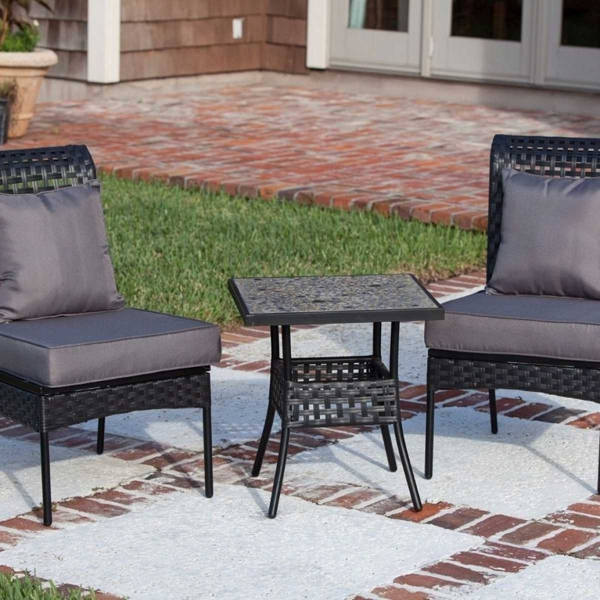 Most Current Patio Conversation Sets Under 200 With Regard To Cheap Patio Furniture Sets Under 200 Dining 2018 And Stunning Trends (View 15 of 15)