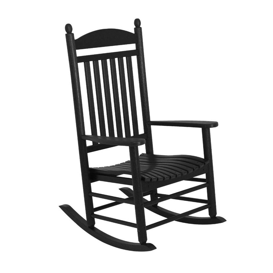 Most Current Rocking Chairs At Lowes Intended For Sensational Idea Rocking Chairs Lowes Black Outdoor Chair Modern (View 7 of 15)