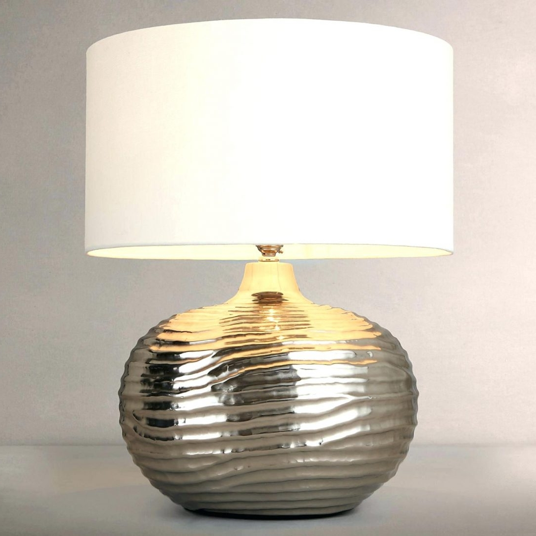 Most Popular Large Table Lamps For Living Room In 48 Most Tremendous Copper Table Lamp Shades For Lamps Pineapple (View 14 of 15)