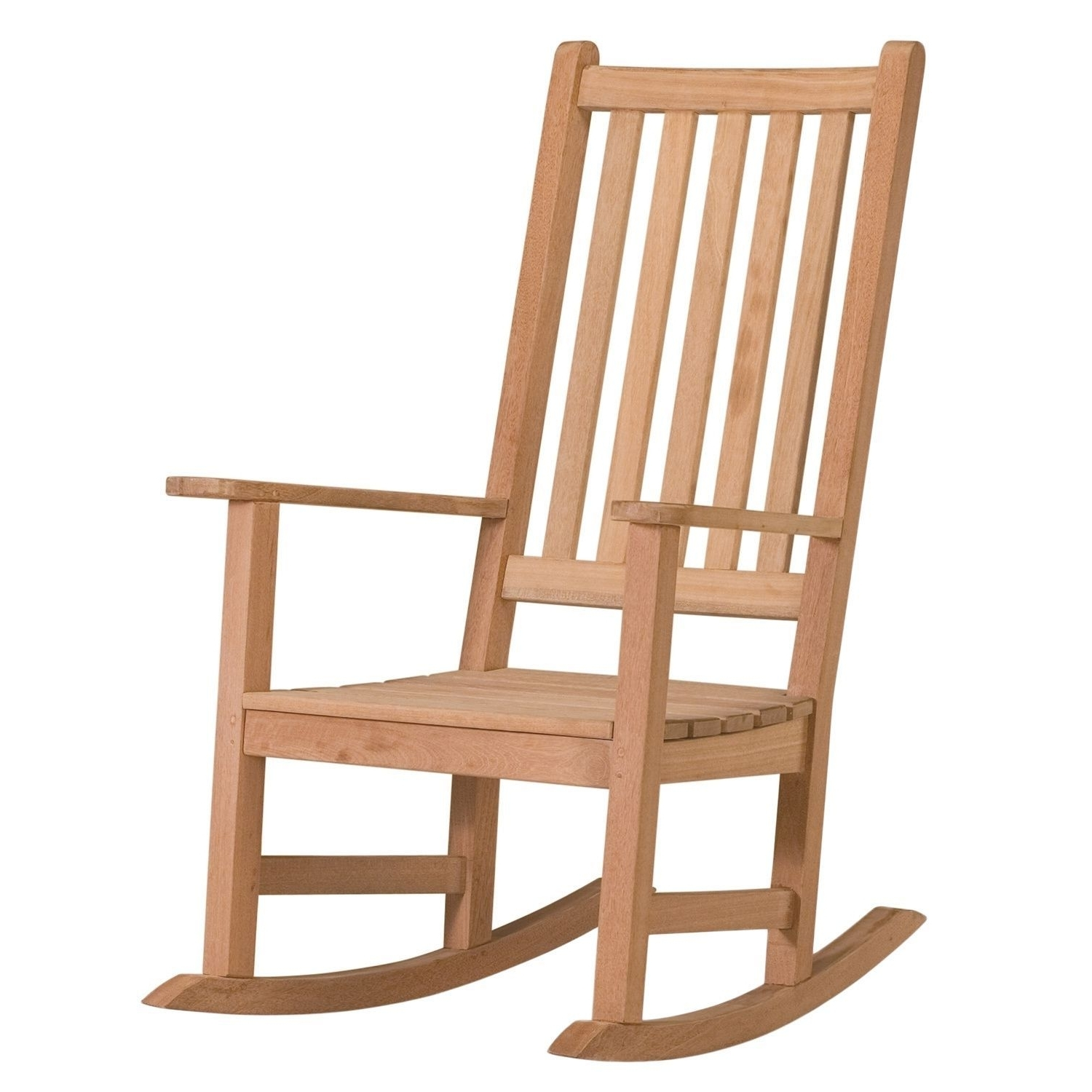 Most Popular Rocking Chairs For Garden With Regard To Oxford Garden Franklin Rocking Chair (Natural), Brown, Size Single (View 7 of 15)