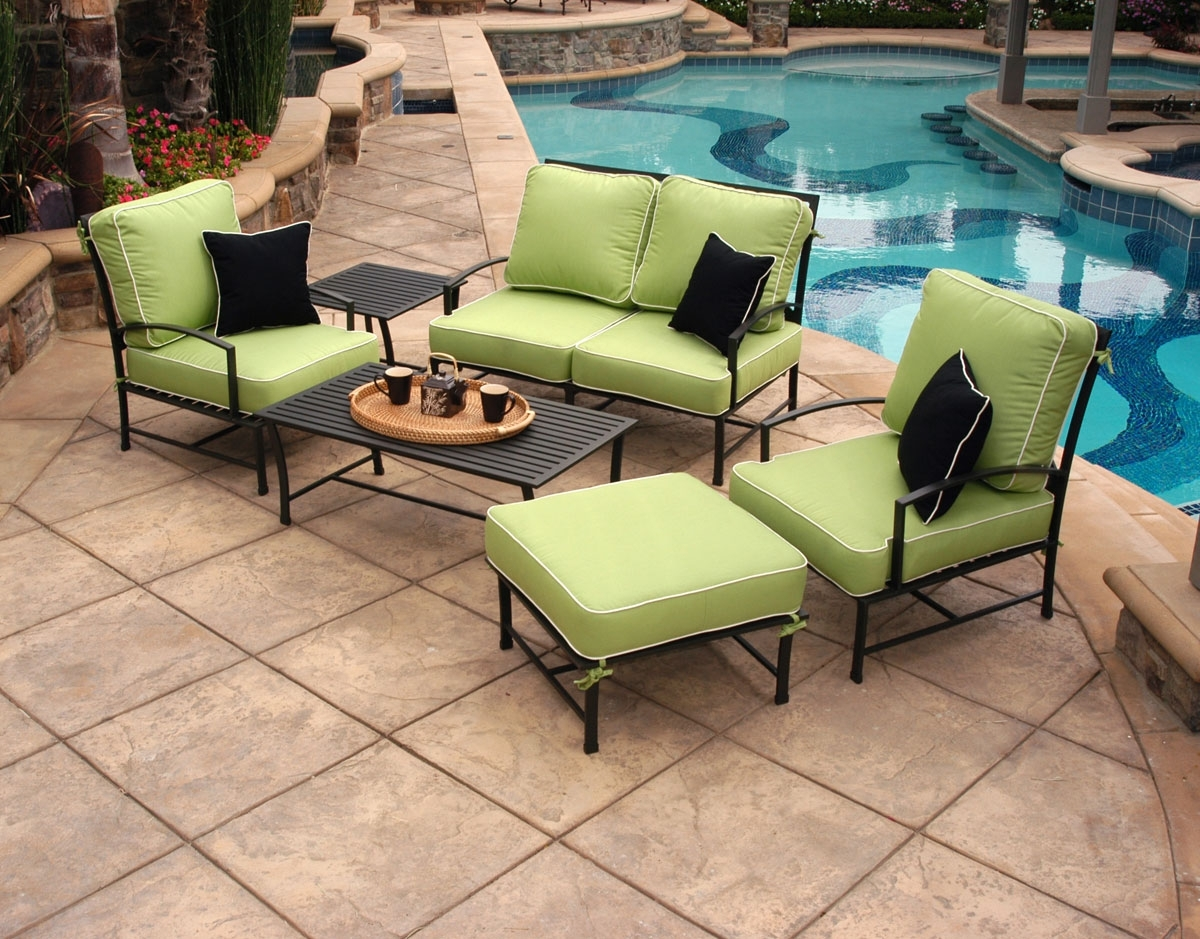 Most Popular Sunbrella Patio Conversation Sets Inside The Magic Of Sunbrella Fabric – Sunbrella Fabric Review (View 6 of 15)