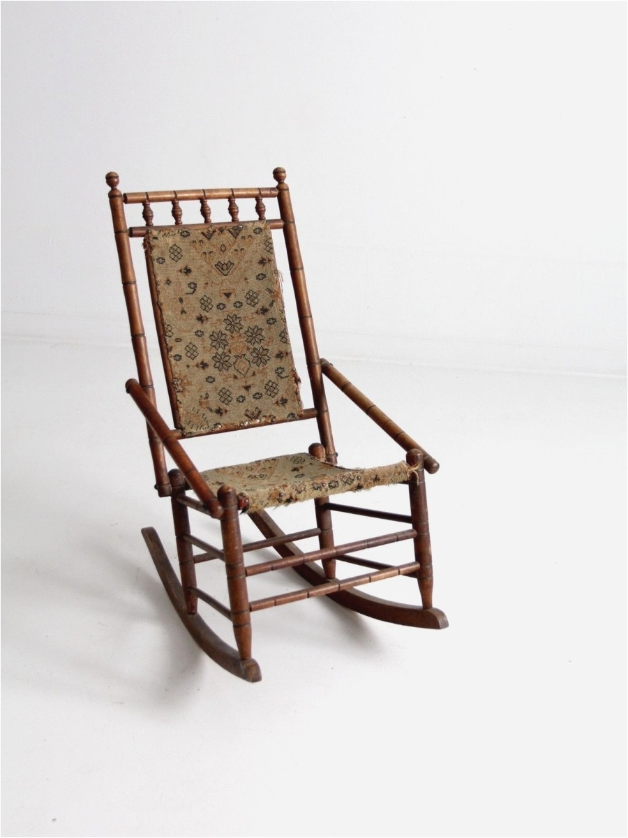 Most Popular Wicker Rocking Chair With Magazine Holder Pertaining To Wicker Rocking Chairs. Image Is Loading Withcushion (View 7 of 15)