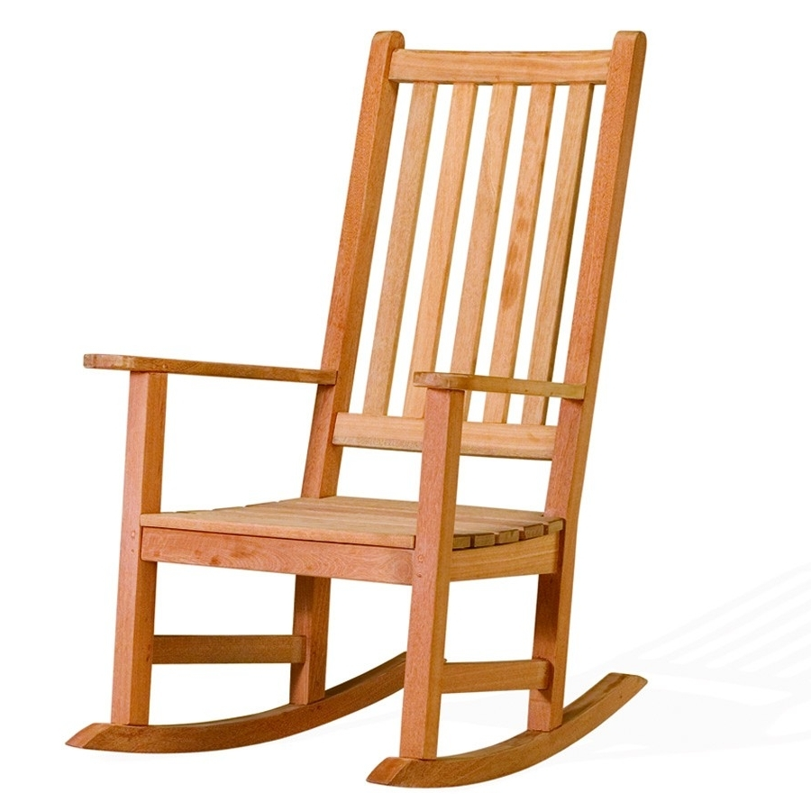 Most Recent 18 Various Kinds Of Simple Wooden Chair To Get And Use In Your Home In Rocking Chairs For Small Spaces (View 3 of 15)