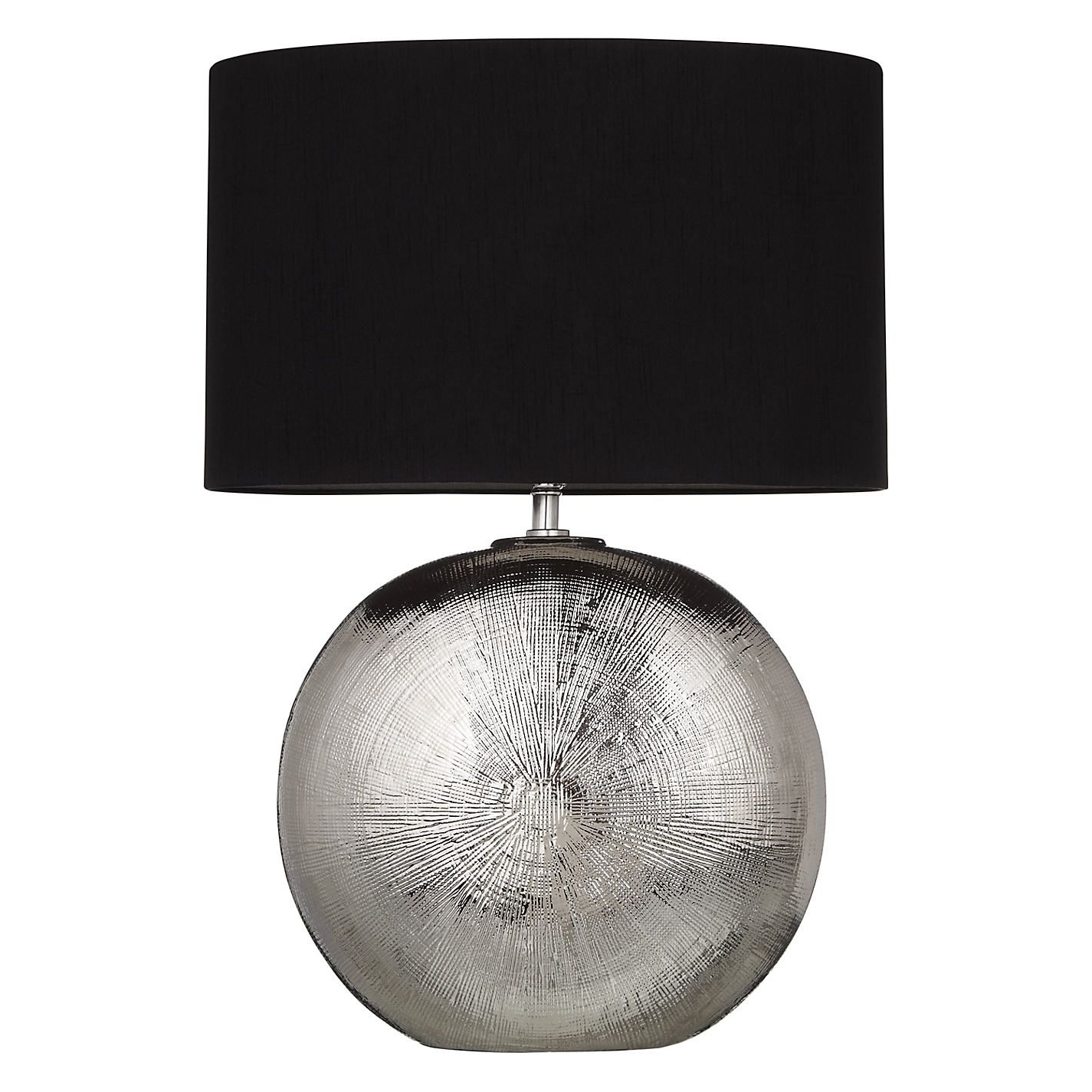 Most Recent Buy John Lewis Benjamin Chromed Ceramic Table Lamp (View 11 of 15)