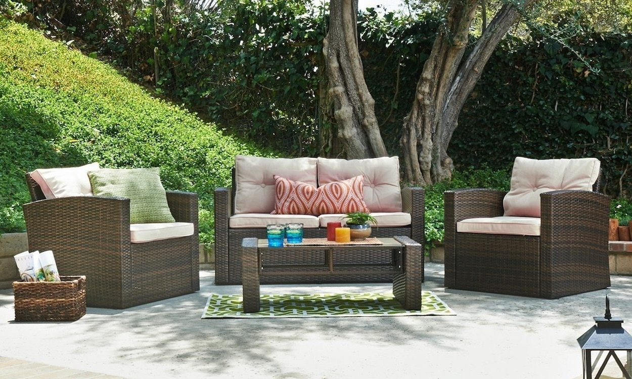Most Recent How To Properly Maintain Patio Furniture – Overstock With Patio Conversation Sets With Storage (View 6 of 15)