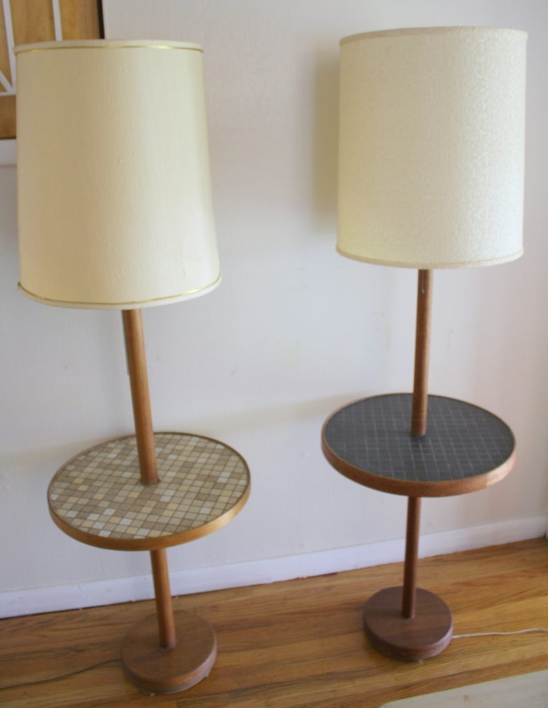 Most Recent Nightstands : Living Room End Table Lamps Vintage Decoration And For Vintage Living Room Table Lamps (View 12 of 15)