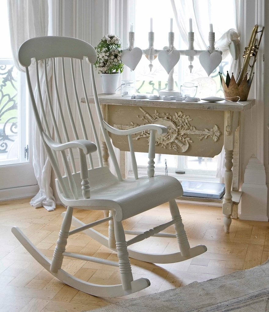 Most Recent White Wicker Rocking Chair For Nursery Pertaining To Wicker Rocking Chair Nursery Ideas : Best Furniture Decor – All (View 8 of 15)