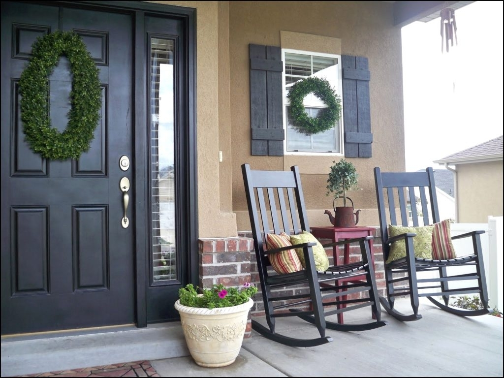 Most Recently Released Beautiful Front Porch Chair Ideas – Niceporches (View 4 of 15)