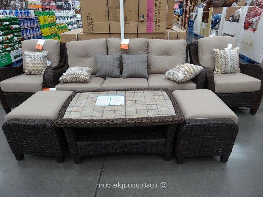 Most Recently Released Impressive On Patio Chairs Costco Furniture Costco Outdoor Furniture With Regard To Costco Patio Conversation Sets (View 1 of 15)