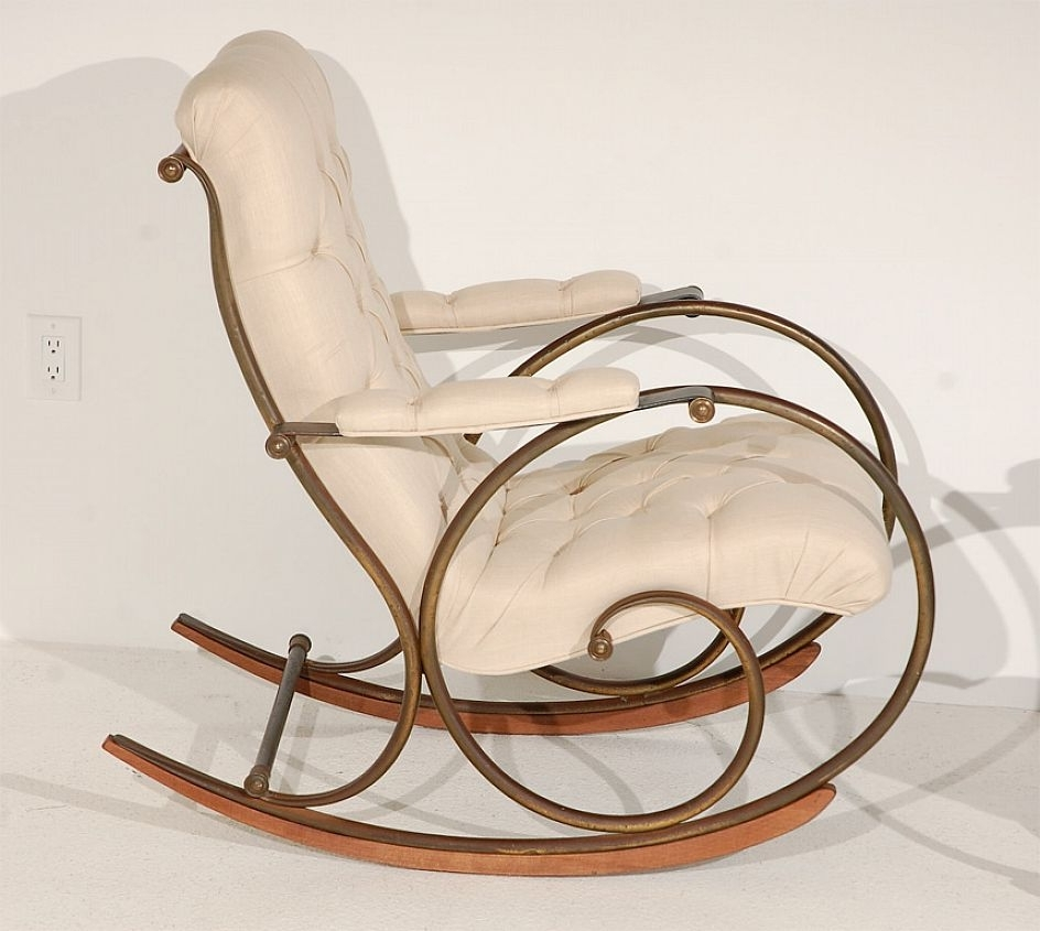 Most Recently Released Old Fashioned Rocking Chairs Within Ottomans : Living Room Furniture Swivel Rocking Chairs Chair Ottoman (View 7 of 15)