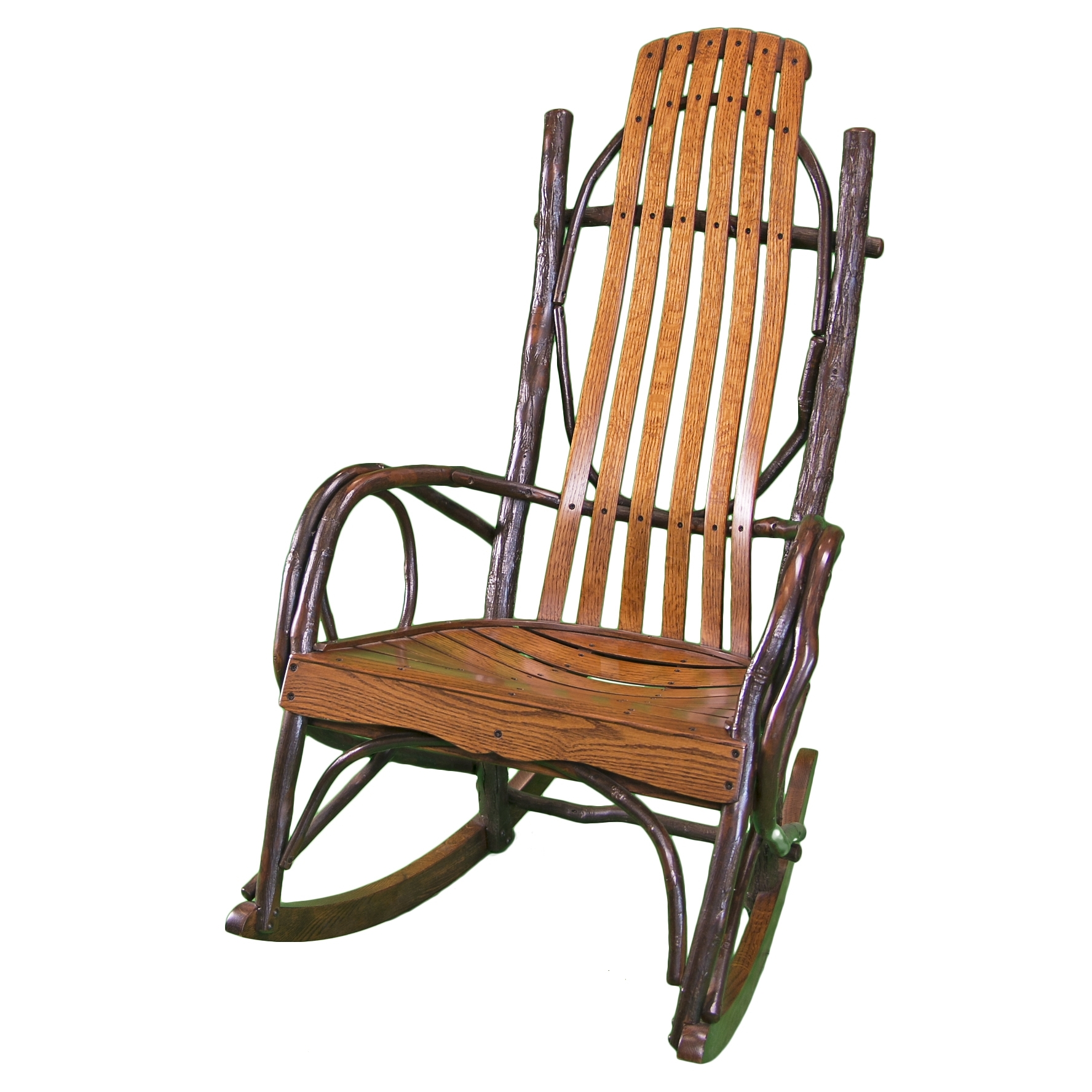 Most Recently Released Rocking Chair Outdoor Wooden Regarding Wooden Rocking Chair – Timber Lodge Furniture (View 6 of 15)