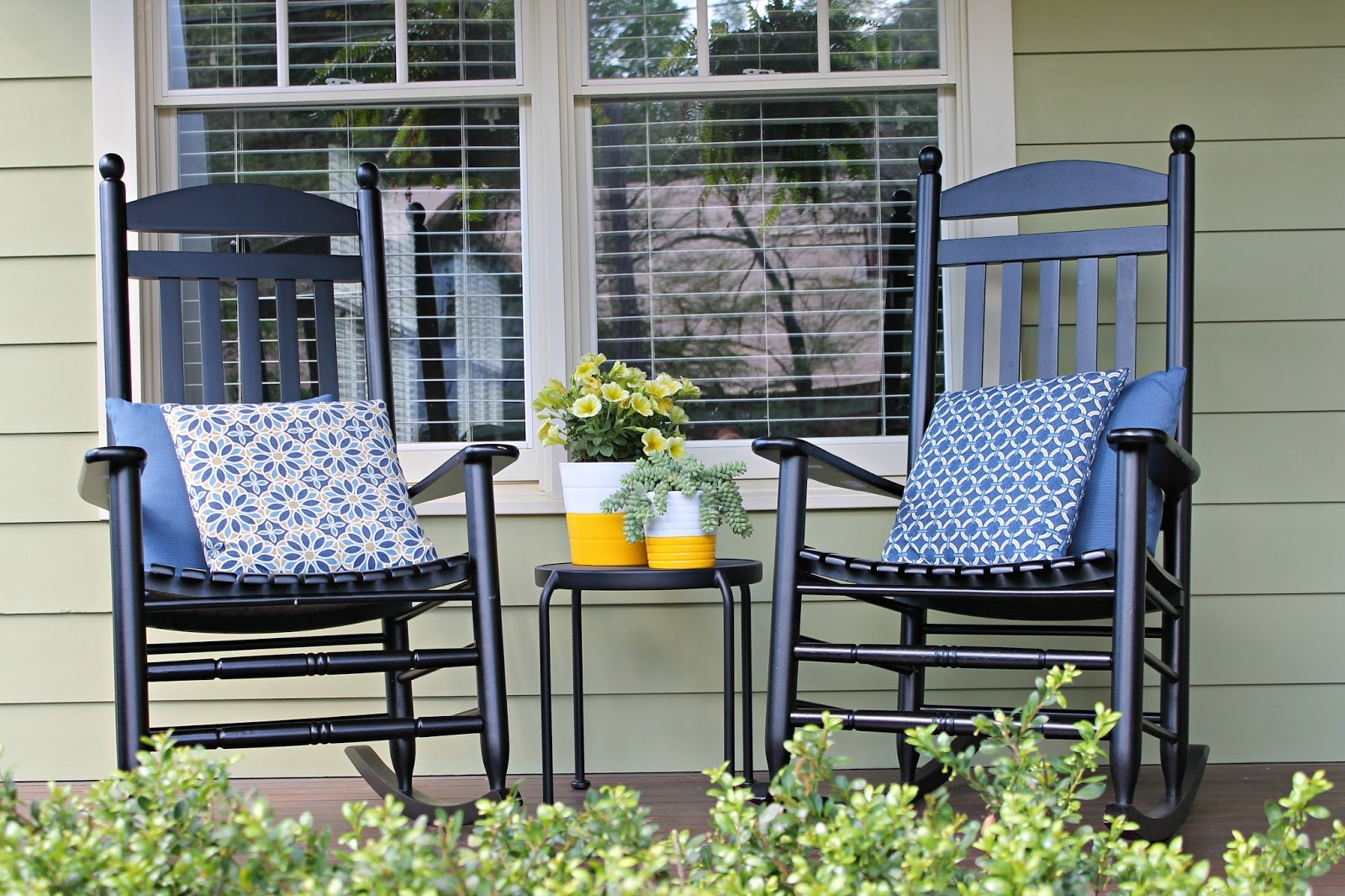 Most Recently Released Small Patio Rocking Chairs Inside The Iconic Style Of Rocking Chair For Chairs Front Porch Design  (View 3 of 15)