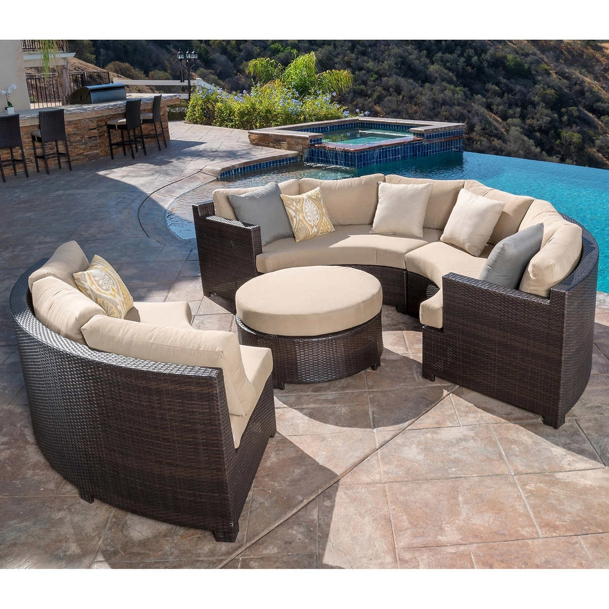 Most Up To Date Costco Patio Conversation Sets Intended For Furniture: Patio Astounding Costco Outdoor Costco Patio Furniture (View 11 of 15)
