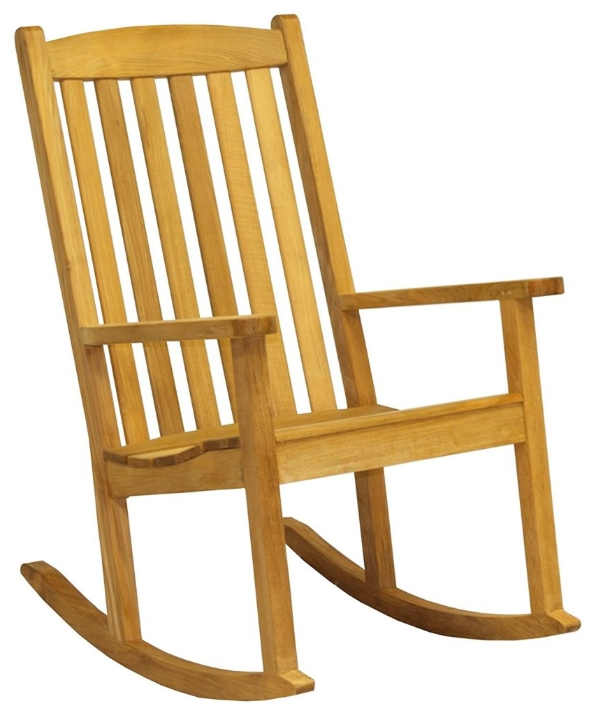 Most Up To Date Furniture: Buying Tips For Choosing The Best Teak Rocking Chairs For Pertaining To Teak Patio Rocking Chairs (View 4 of 15)