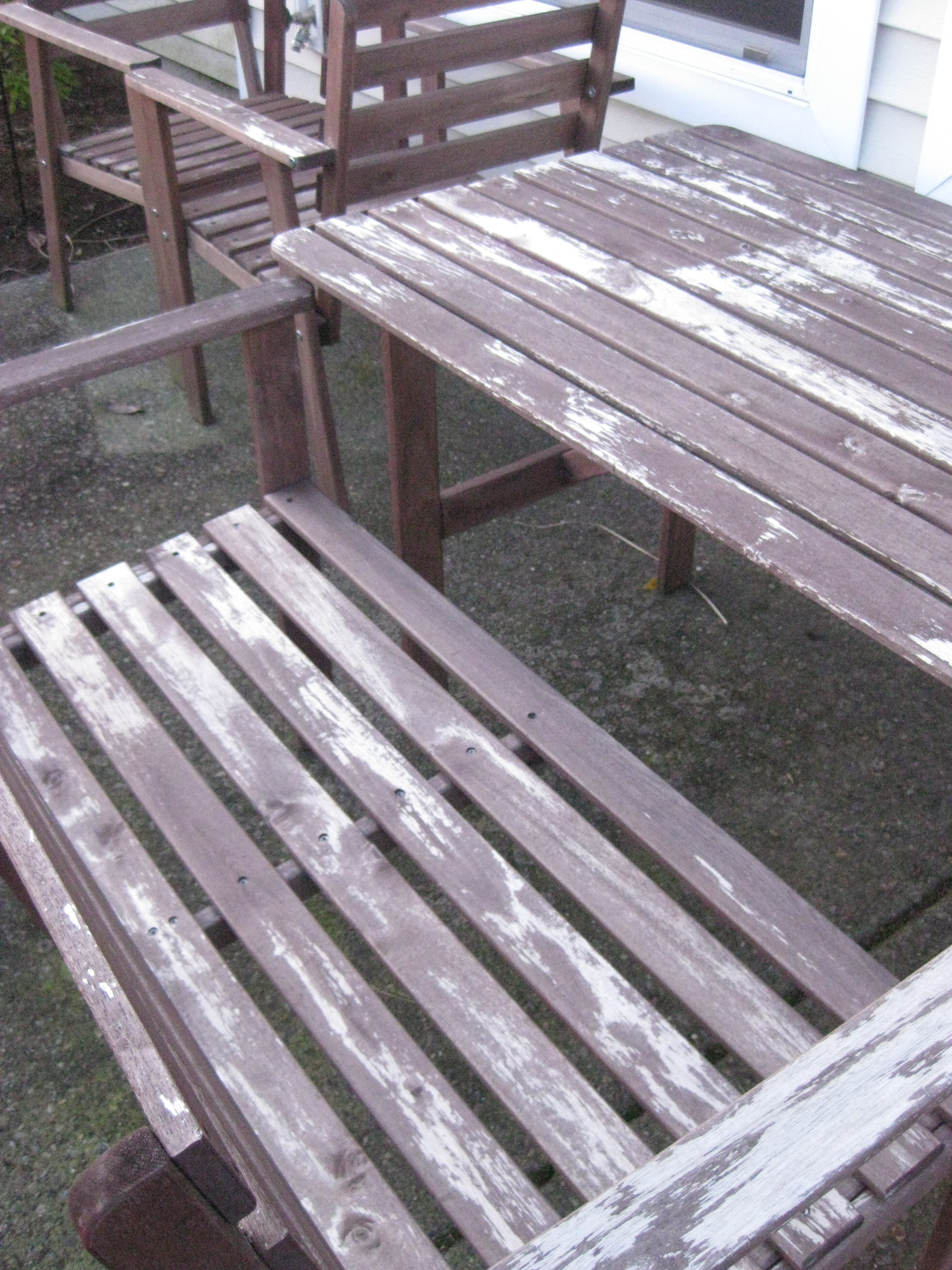 Most Up To Date Ikea Tullero Patio Set Refinish Complete! Pertaining To Ikea Patio Conversation Sets (View 11 of 15)
